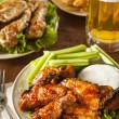 Barbecue Buffalo Chicken Wings — Stock Photo #41140939