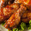 Barbecue Buffalo Chicken Wings — Stock Photo #41140991