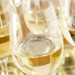 Stock Photo: Refreshring White Wine in Glass