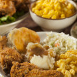Homemade Southern Fried Chicken — Stock Photo #41631421