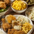 Homemade Southern Fried Chicken — Stock Photo #41631451
