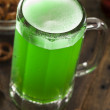 Green Beer for St. Patrick's Day — Stock Photo #41636865
