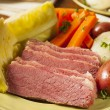 Stock Photo: Homemade Corned Beef and Cabbage