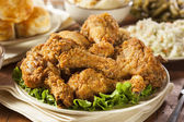 Homemade Southern Fried Chicken — Stock Photo