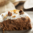 Stock Photo: Homemade Chocolate Cream Pie