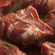 Raw Red Lamb Chops — Stock Photo #42150745