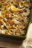 Homemade Cheesey Scalloped Potatoes — Stock Photo