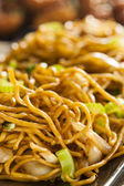 Asian Chow Mein Noodles — Photo