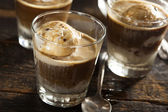 Homemade Affogato with Ice Cream — Stockfoto