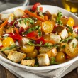 Постер, плакат: Traditional Healthy Panzanella Salad