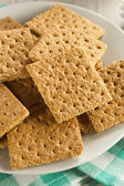 Biscuits graham au miel sain — Photo
