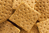 Healthy Honey Graham Crackers — Stock Photo