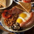 Traditional Full English Breakfast — Stock Photo #45514663