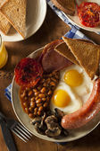 Traditional Full English Breakfast — Stock Photo