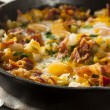 Homemade Hearty Breakfast Skillet — Stock Photo #46458599