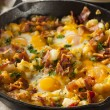 Homemade Hearty Breakfast Skillet — Stock Photo #46458821