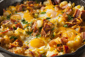 Homemade Hearty Breakfast Skillet — Stock Photo