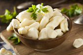 White Dairy Cheese Curds — Stock Photo