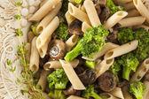 Homemade Broccoli and Parmesan Pasta — Stockfoto