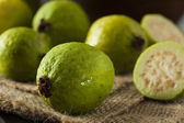 Fresh Organic Green Guava — 图库照片