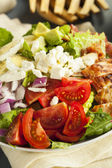 Healthy Hearty Cobb Salad — 图库照片