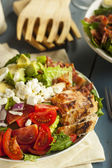 Healthy Hearty Cobb Salad — Stock fotografie
