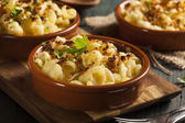 запеченная домашние макароны и сыр — Стоковое фото
