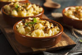 Baked Homemade Macaroni and Cheese — Stock Photo