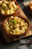 Baked Homemade Macaroni and Cheese — Foto Stock
