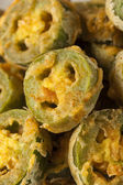 Unhealthy Fried Jalapeno Slices — 图库照片