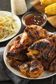 Homemade Grilled Barbecue Chicken — Zdjęcie stockowe