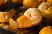 Fresh Raw Organic Mandarin Oranges — Stock Photo