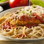 Homemade Italian Chicken Parmesan — Stock Photo #49760345