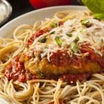 Homemade Italian Chicken Parmesan — Stock Photo #49760357