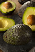 Organic Raw Green Avocados — Stockfoto