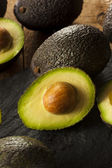 Organic Raw Green Avocados — Foto Stock