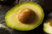 Organic Raw Green Avocados — ストック写真