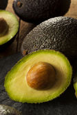 Organic Raw Green Avocados — Foto de Stock