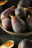 Raw Purple Organic Figs — Stock Photo