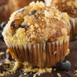 Homemade Blueberry Muffins for Breakfast — Stock Photo #50945635