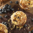 Homemade Blueberry Muffins for Breakfast — Stock Photo #50945759