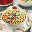 Coloful Fruit Cereal Loops — Stock Photo #51179837