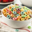 Coloful Fruit Cereal Loops — Stock Photo #51179849