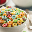 Coloful Fruit Cereal Loops — Stock Photo #51179887