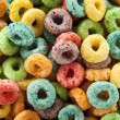 Coloful Fruit Cereal Loops — Stock Photo #51179941