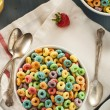 Coloful Fruit Cereal Loops — Stock Photo #51179951