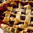 Delicious Homemade Cherry Pie — Stock Photo #51337761