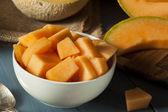Melón naranja orgánica de salud — Foto de Stock