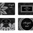 Business cards — Image vectorielle