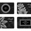 Business cards - Image vectorielle